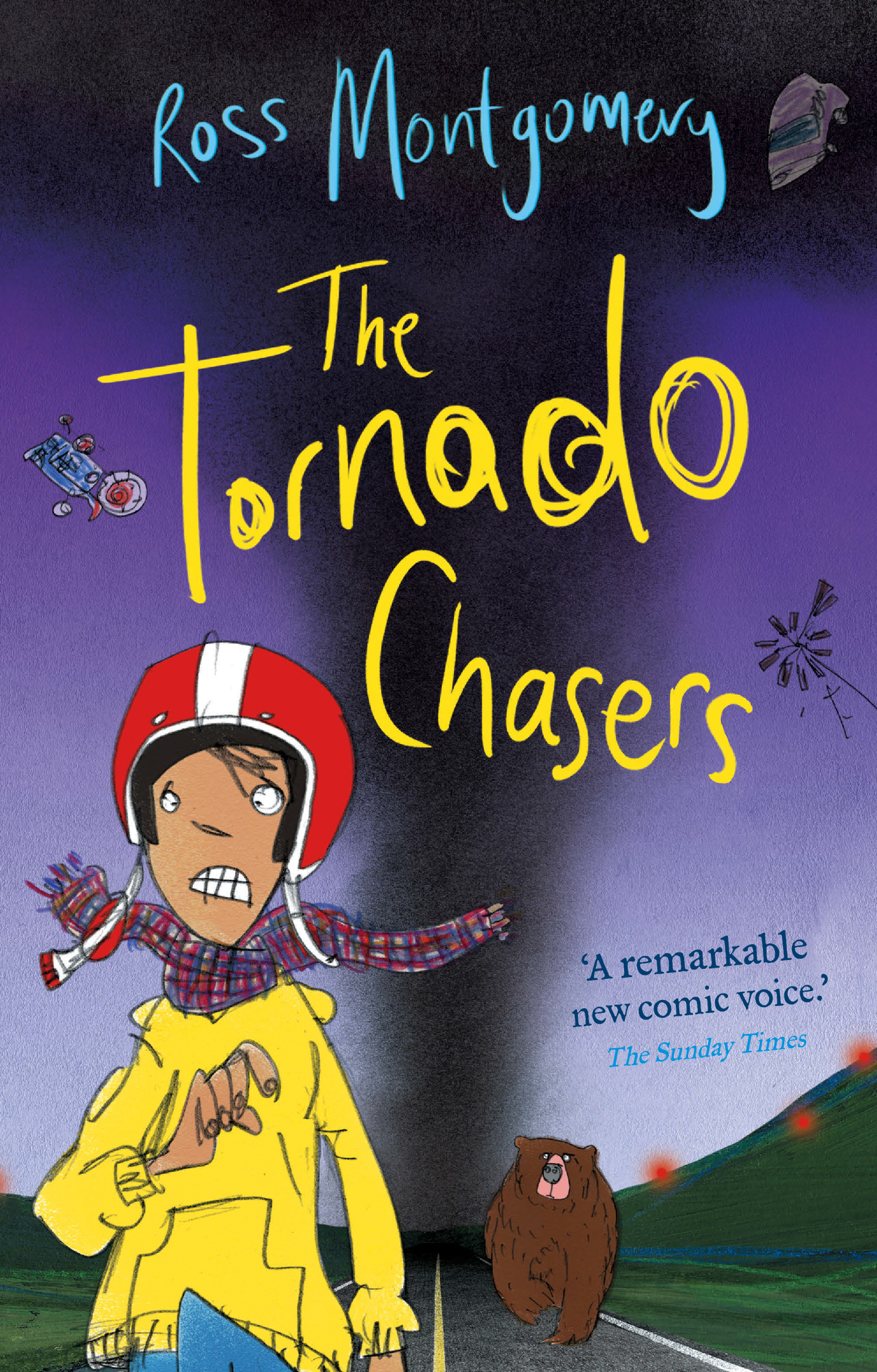 THE TORNADO CHASERS COVER large