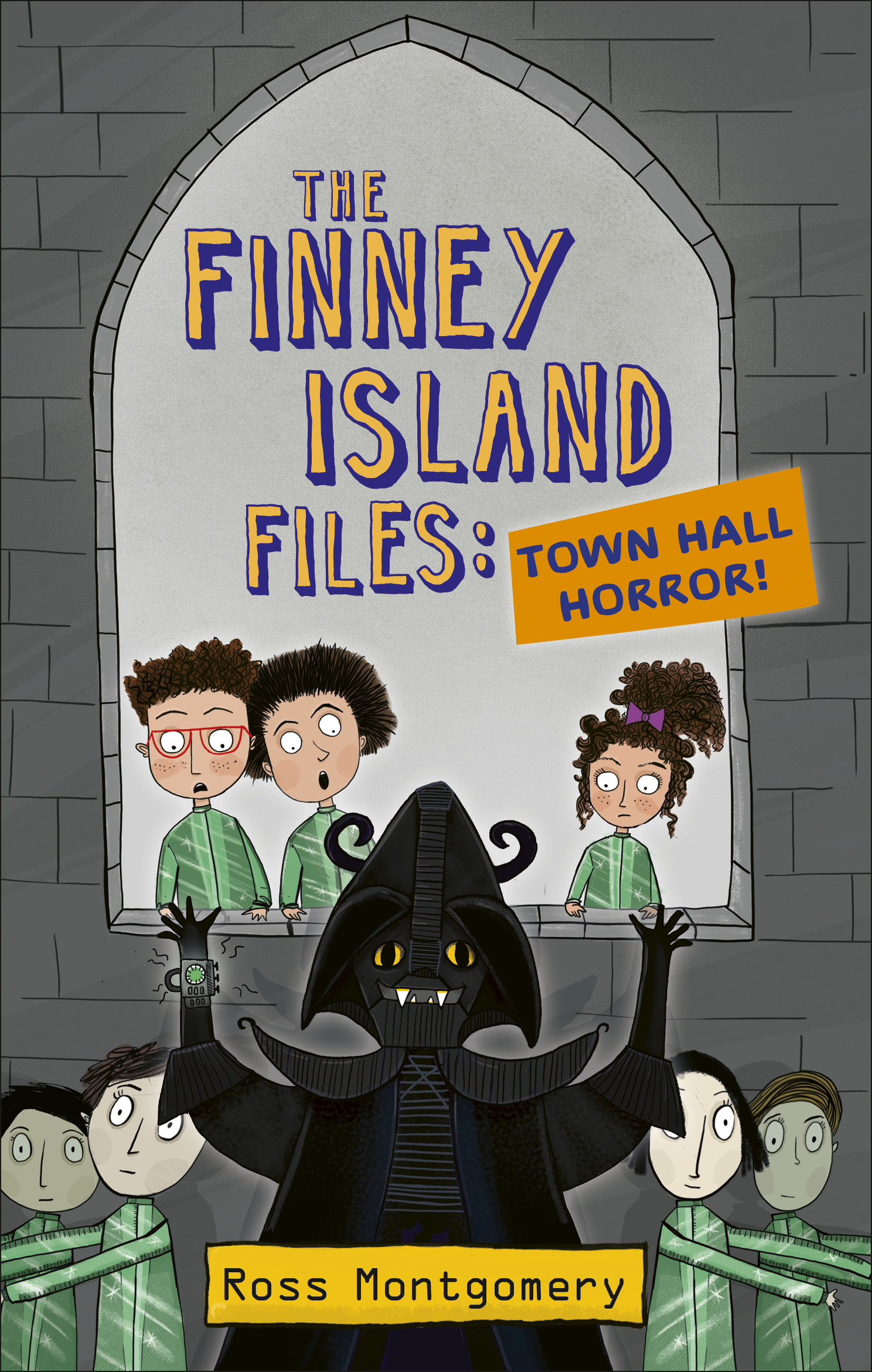The Finney Island Files 3: Town Hall Terror!